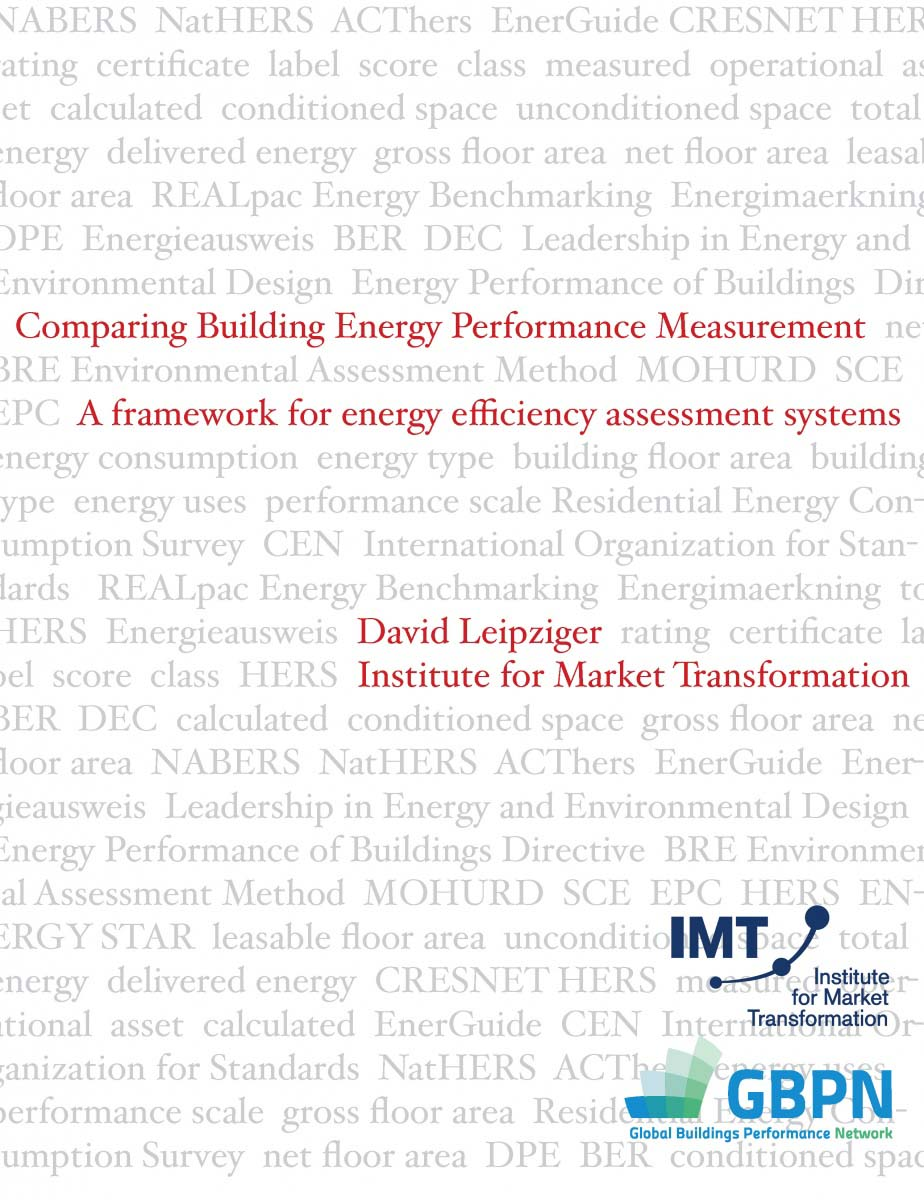 Framework For Comparing Energy Rating Systems