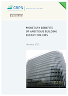 [Report] Monetary Benefits of Ambitious Building Energy Policies-GBPN