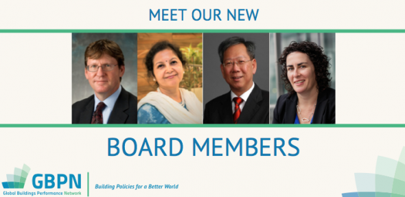 image of our board members