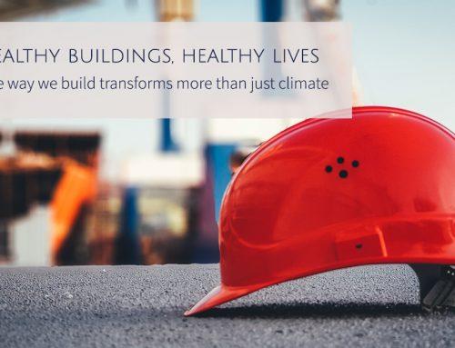 Healthy buildings, healthy lives